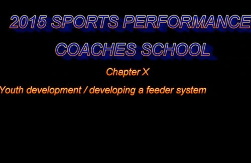 2015 Coaches School - Part 6 - Youth Development