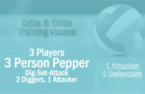 3 Contact Pepper- Two Diggers/Setters w/One Attacker